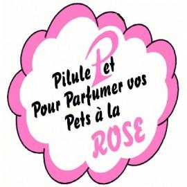 Pilule qui parfume les flatulences à la rose