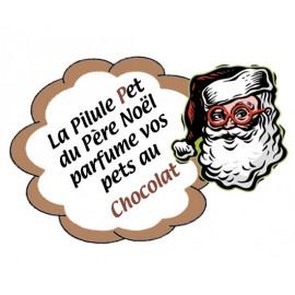 La Pilule Pet du Père Noël qui parfume vos pets au chocolat