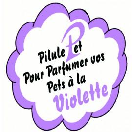 La pilule qui parfume les pets à la violette