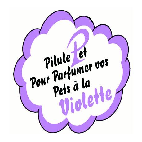 Píldora perfume pedos con violeta